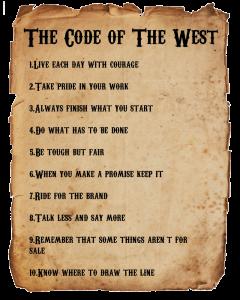 codeofthewest