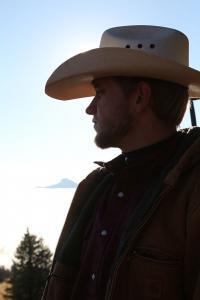 Cowboy young man