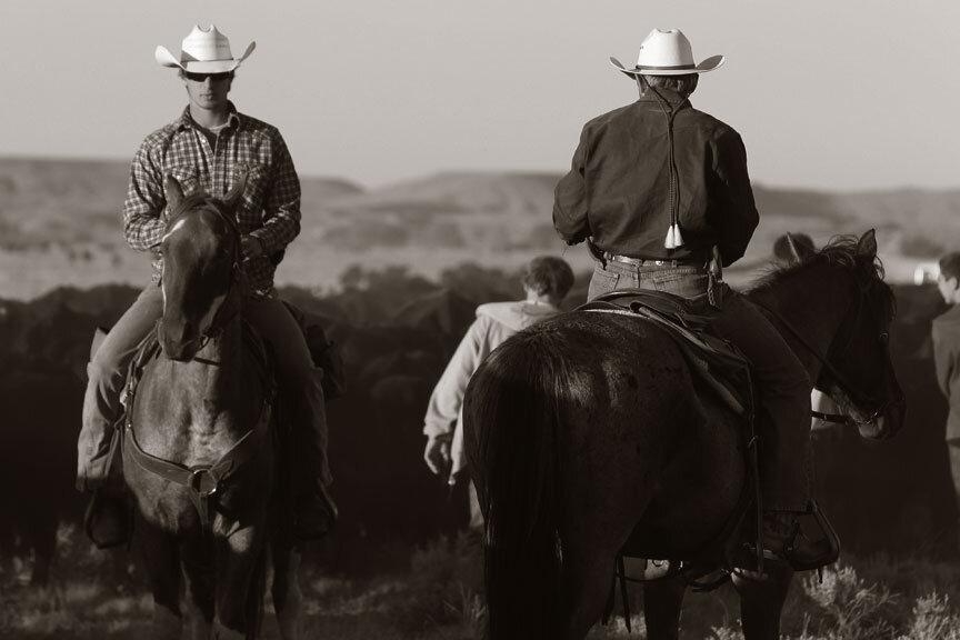 men on horseback at beartooth men's rehab